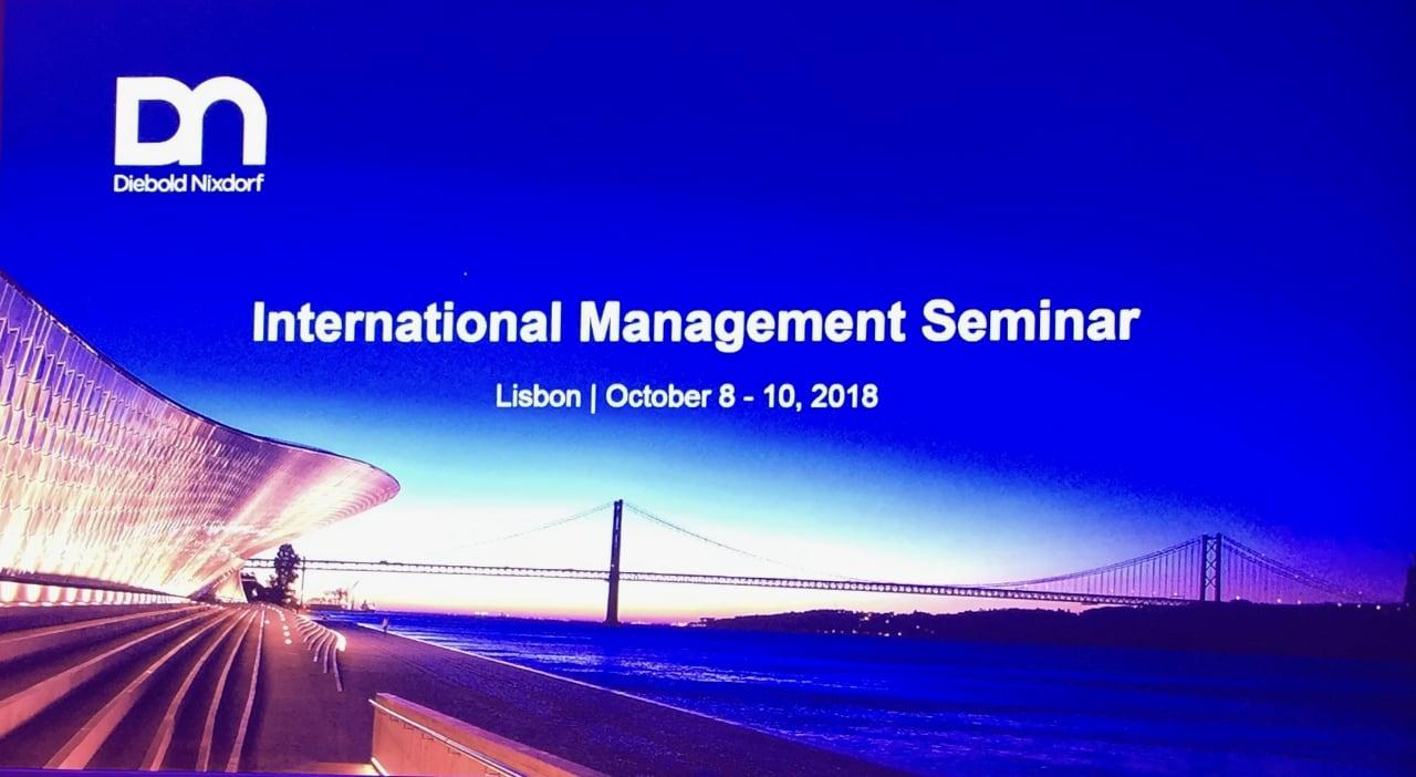 Diebold Nixdorf International Management Seminar 2018